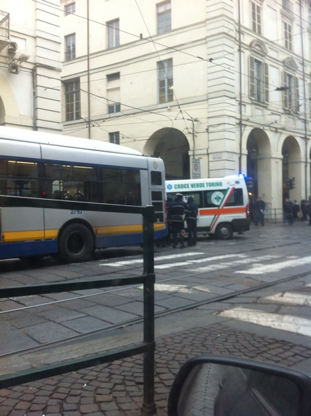 Incidente via Po Torino